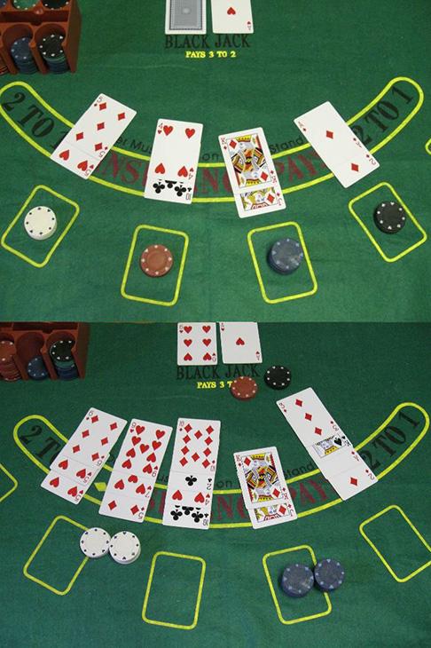 card games winning live dealer jackpots